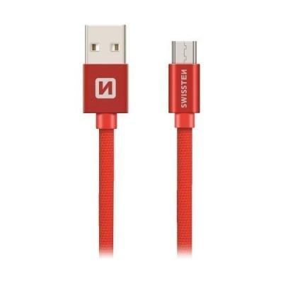 Kabel SWISSTEN USB 2.0 typ A na micro B 3m