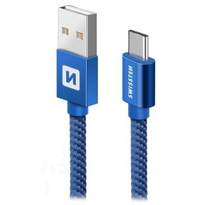 Kabel SWISSTEN USB 2.0 typ A na C 0,2m