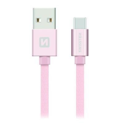 Kabel SWISSTEN USB 2.0 typ A na C 1,2m