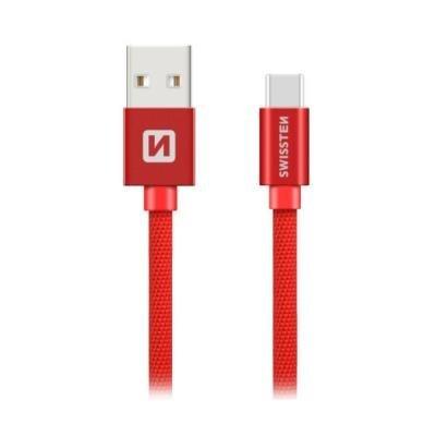 Kabel SWISSTEN USB 2.0 typ A na C 3m