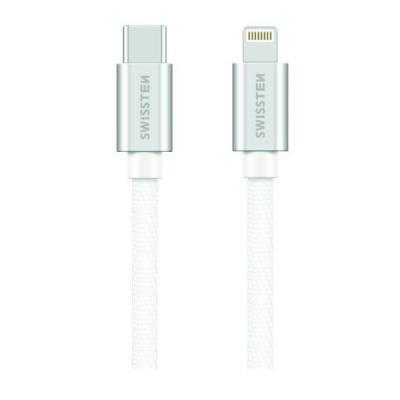 Kabel SWISSTEN USB 2.0 typ C na Lightning 1,2m