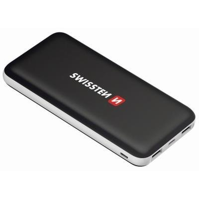 PowerBank SWISSTEN Black Core Slim 15000mAh