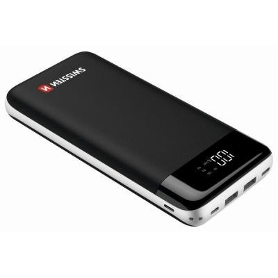 PowerBank SWISSTEN Black Core 30000mAh