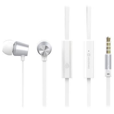 Headset SWISSTEN Earbuds Dynamic YS500 bílý