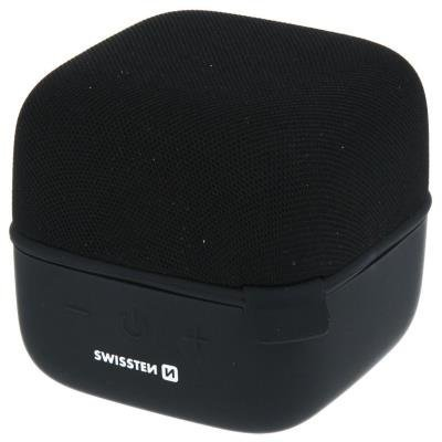 Reproduktor SWISSTEN Music Cube černý