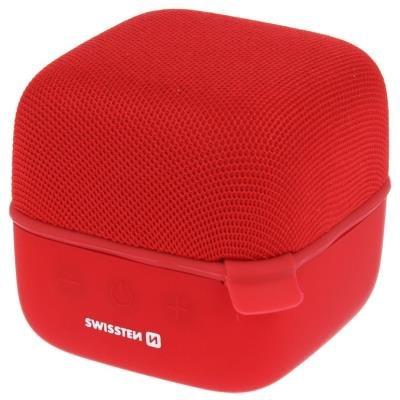 Reproduktor SWISSTEN Music Cube červený