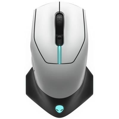 DELL myš Alienware Wireless /bezdrátová/ Gaming Mouse/ AW610M Lunar Light