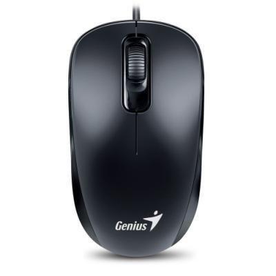 Genius DX-110/ drátová/ 1000 dpi/ PS2/ černá
