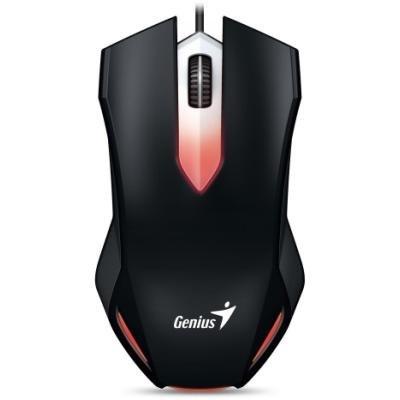 GENIUS Gaming X-G200/ drátová/ 1000 dpi/ USB/ černá