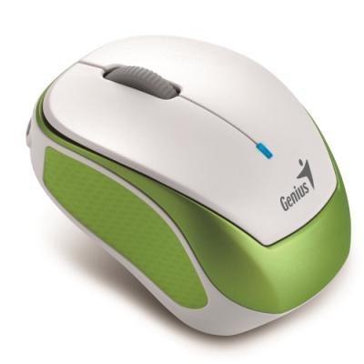 Myš Genius Micro Traveler 9000R V3 bílozelená
