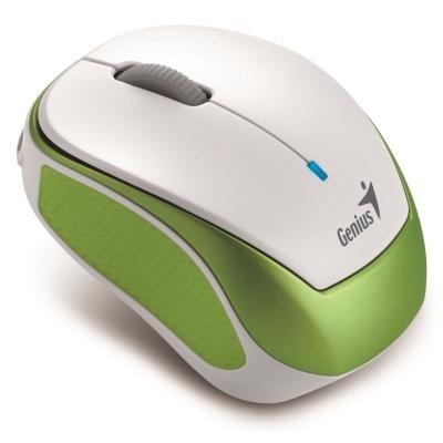 Genius Micro Traveler 9000R V3 bílo-zelená