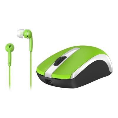 Myš Genius MH-8100 + headset zdarma zelená