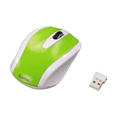 Myš Hama AM-7200 bílo-zelená