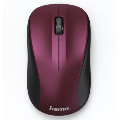 Myš Hama MW-300 bordó-růžová