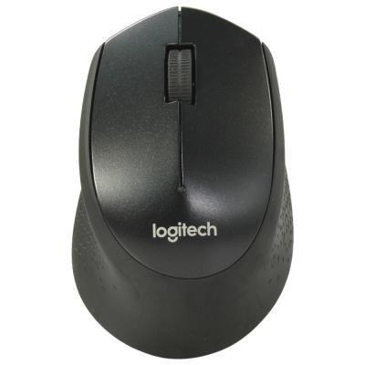 Logitech M330 Silent Plus černá