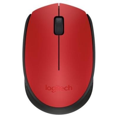 Myš Logitech M171 červená