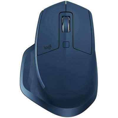 Logitech myš MX Master 2S / Bezdrátová/ Laser/ 4000dpi/ Bluetooth/ Midnight Teal
