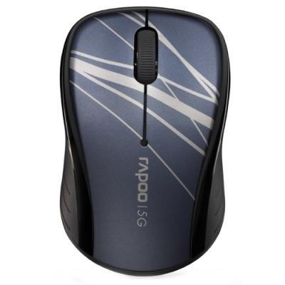 RAPOO 3100P Blue/ 1000 dpi/ bezdrátová/ 5 GHz/ modrá