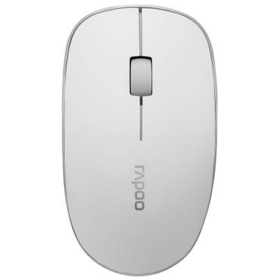 RAPOO 3510 White/ 1000 dpi/ bezdrátová/ 2,4 GHz/ bílá