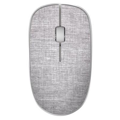 RAPOO 3510 Plus Grey/ 1000 dpi/ bezdrátová/ 2,4 GHz/ textilní povrch/ šedá