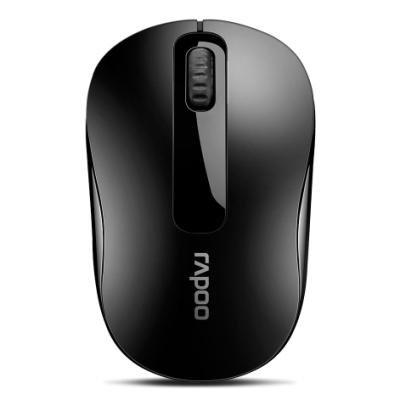RAPOO M10 Plus Black/ 1000 dpi/ bezdrátová/ 2,4 GHz/ černá