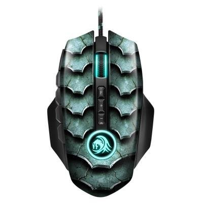 Sharkoon optická myš Drakonia II Zelená 15000 DPI