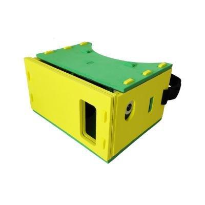 Brýle pro VR PanoBoard Foam Edition VR žluto-zelen