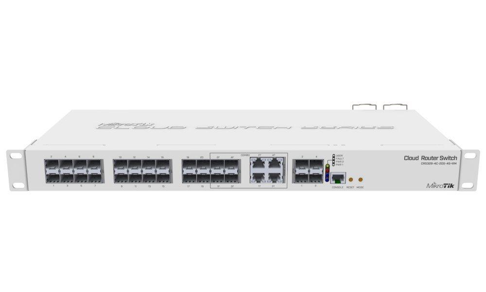 Switch MikroTik CRS328-4C-20S-4S+RM