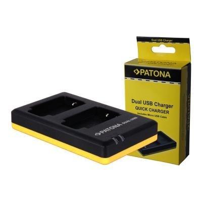Nabíječka PATONA Foto Dual Quick Nikon EN-EL19 USB