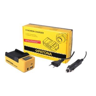 Nabíječka PATONA kameru Synchron SJCAM SJ4000
