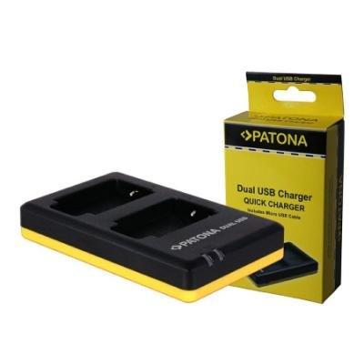 Nabíječka PATONA pro 2 baterie Panasonic DMW-BCM13