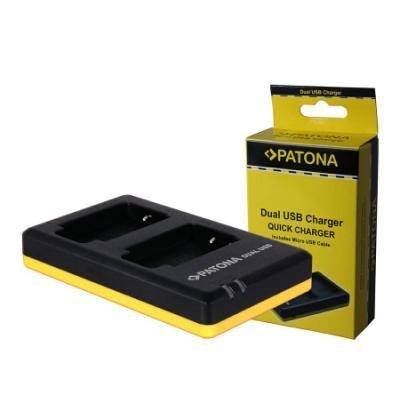 Nabíječka PATONA pro 2 baterie Canon NB-10L