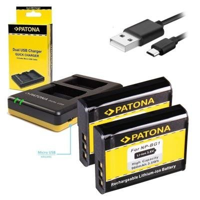 Nabíječka PATONA pro 2 baterie Sony NP-BG1