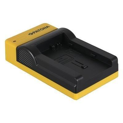 PATONA nabíječka pro digitální kameru Canon BP-808/820/827/828 slim, USB
