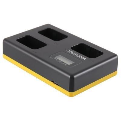 Nabíječka PATONA pro 3 baterie Sony NP-FW50