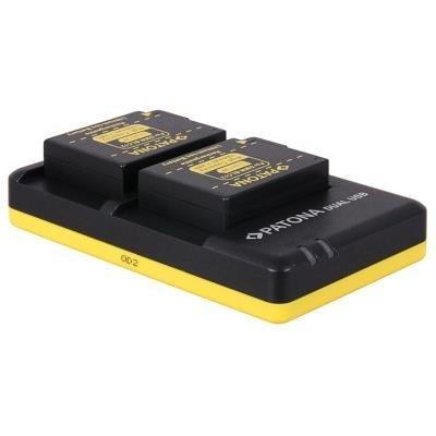 Nabíječka PATONA pro 2 baterie Panasonic DMW-BLC12