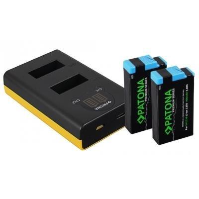 PATONA pro 2 baterie GoPro Max + 2x 1400mAh