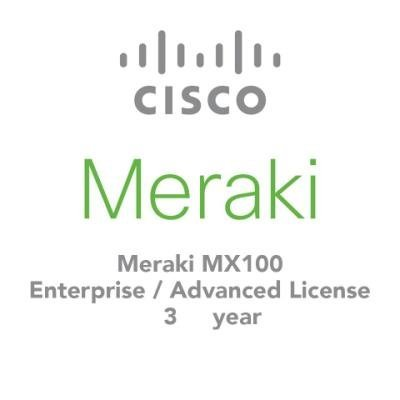 Licence Cisco Meraki MX100 Advanced Security