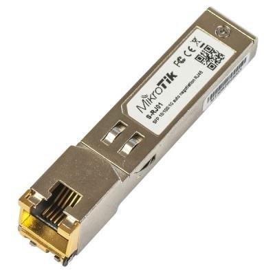 Metalický modul MikroTik S-RJ01