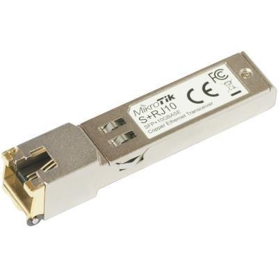 MikroTik S+RJ10 RJ45 10M/100M/1G/10G copper modul (SFP+)