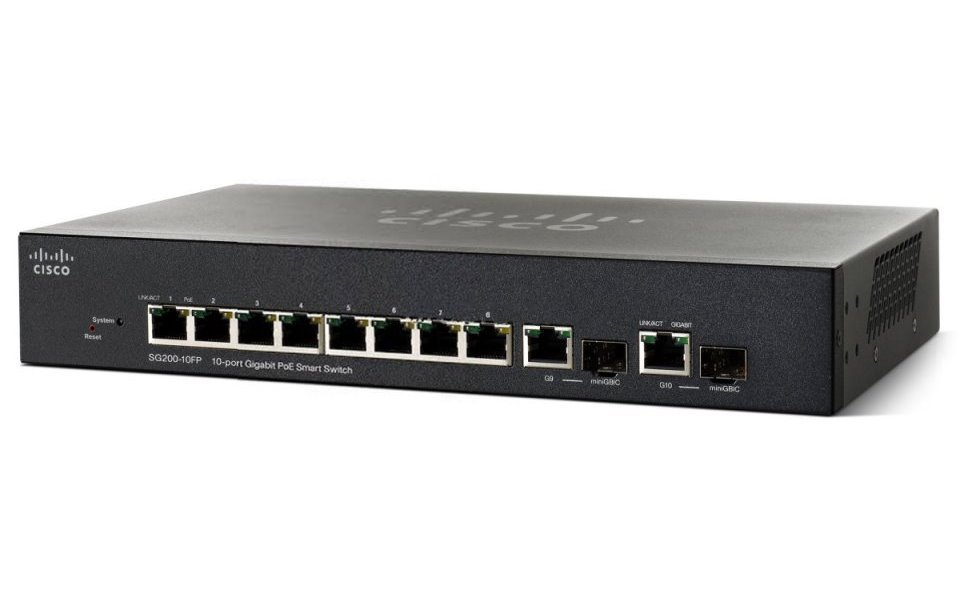 Switch Cisco SG200-10FP