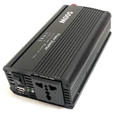 EUROCASE měnič napětí AC/DC 24V/230V/ 500W/ USB