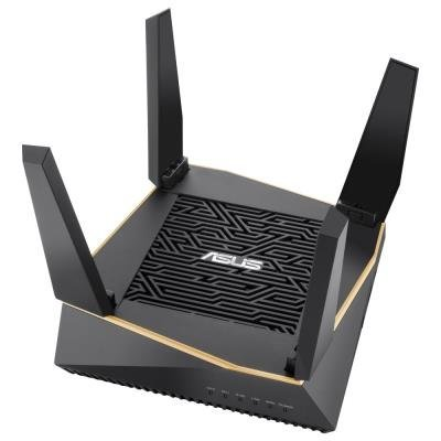 ASUS RT-AX92U Wireless AX6100 Gigabit Router, 4x gigabit RJ45, 1x USB3.1, 1x USB2.0