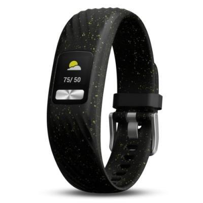 Fitness náramek Garmin vívofit4 černo-zelený S/M