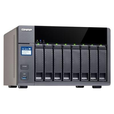 Síťové úložiště NAS QNAP TS-831X-8G