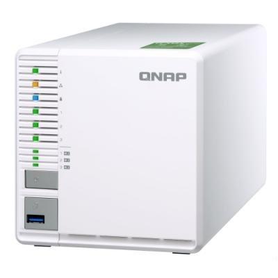 QNAP TS-332X-2G   1,7 GHz QC/2GB/3xHDD/SSD/1xSFP+/2xGL/USB 3.0/R5
