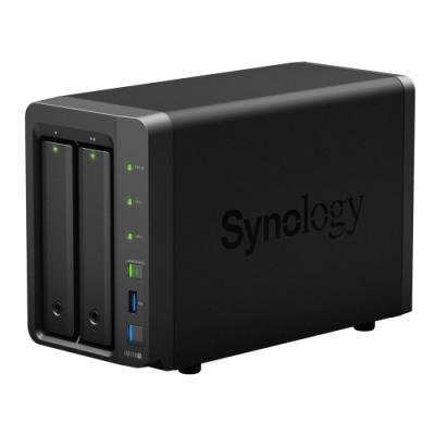 Synology DS718+   2x SATA, 2GB DDR3, 3x USB 3.0, eSATA, 2x Gb LAN