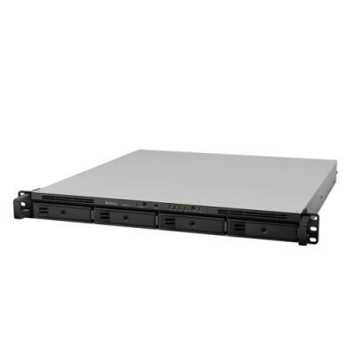 Synology RS818RP+   4-Bay SATA 3G, Intel 4C 2,4GHz, 2GB, 4xGbE LAN, 2xUSB3, RP