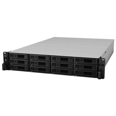 Synology RS2418+   Rack 2U, 12x SATA, 4GB DDR4, 2x USB3.0, 4x Gb LAN