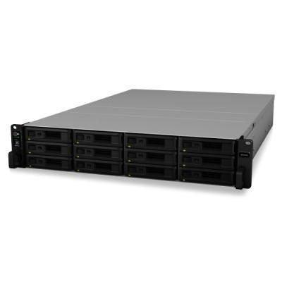 Synology RS3618xs 12-bay NAS, VMware®, Citrix®, Microsoft® Hyper-V®, rack 2U, 8GB RAM, 2x USB 3.0, 4x GLAN, 2x Gen3 x8